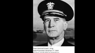 The Five Star Generals/Admirals
