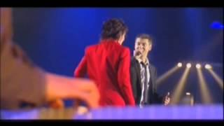 Dani et Etienne Daho « Comme un boomerang » Les Victoires de la Musique 2002