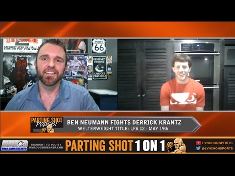 Ben Neumann talks LFA title fight May 19th, potential UFC jump & love for baking