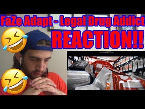 e0b218a33396e FaZe Adapt - Legal Drug Addict Official Music Video REACTION!!!