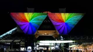 [4K] Tokyo Big Sight 20th Anniversary Projection Mapping