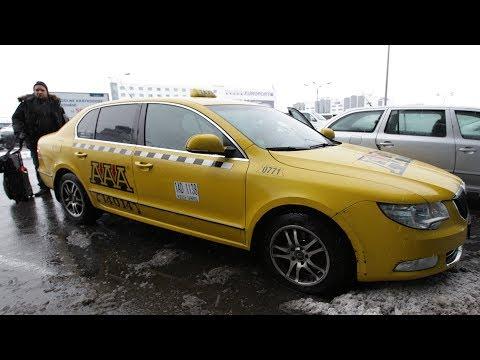 Taxi in Prague using turbo meter scam.