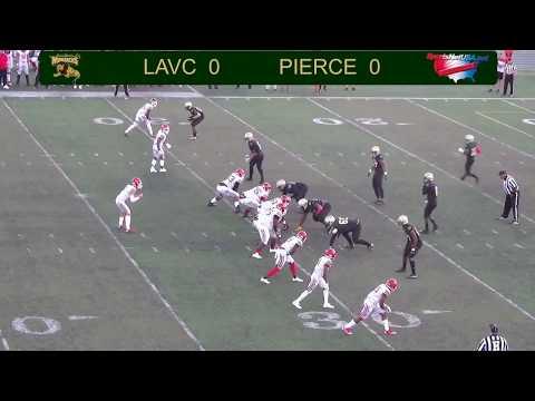 LA Valley College Football vs Pierce