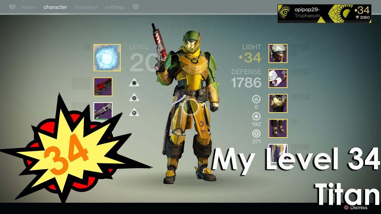 Destiny Titan Build Pve