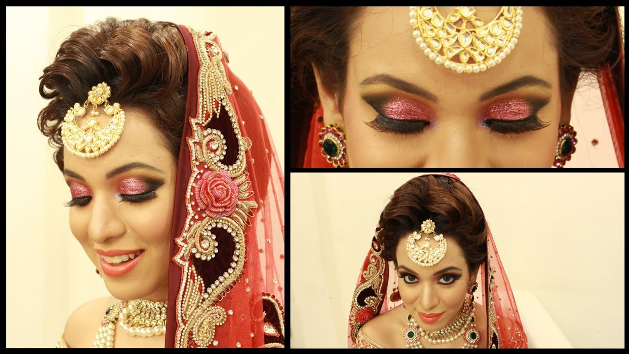 contemporary indian bridal look - kriti ds makeovers - youtube