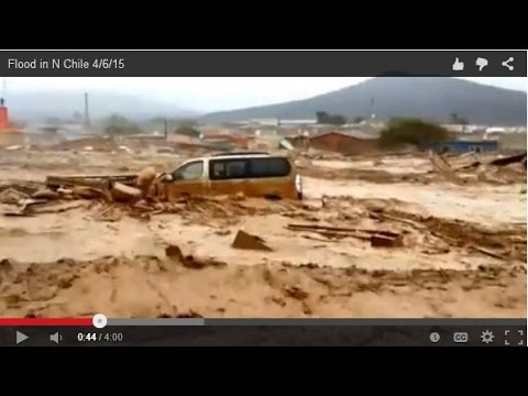 Flood in N Chile 4/6/15