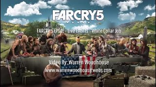 FARCRY 5 (PS4) - Live Events - White Collar Job