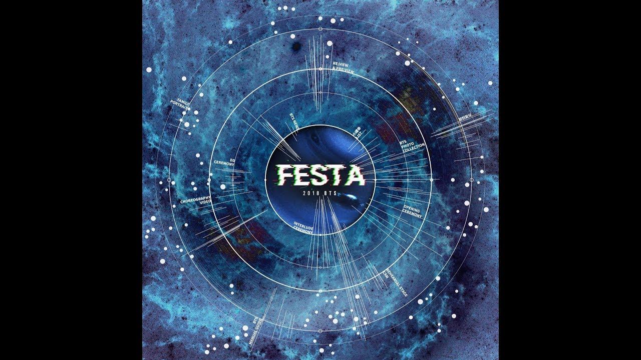 BTS FESTA 2018 WELCOME ARMY