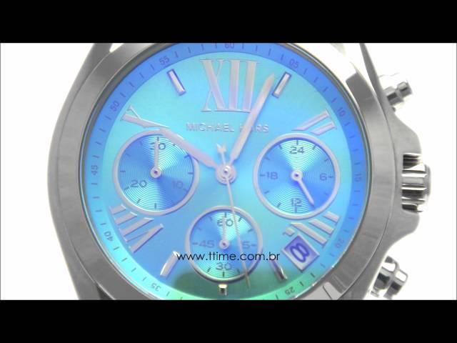 Relogio Michael Kors Azul Preo - O melhor preço f6d1513a31