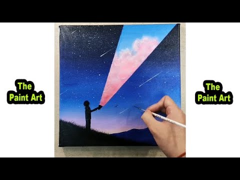 Painting Ideas, Easy Paint Art for Home Decor – Art For Beginners #3