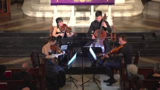 "Attacca Quartet plays Haydn Op. 50 no. 5 ""The Dream"" -- First Movement"