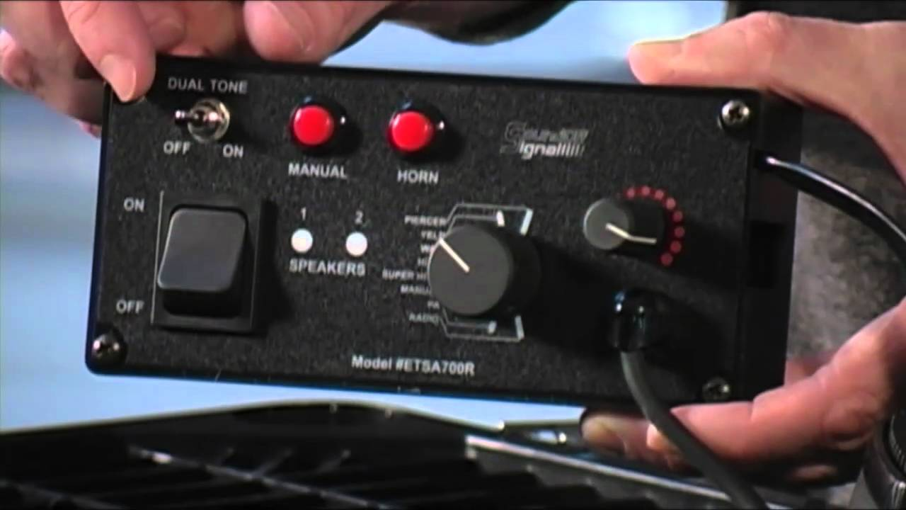 Soundoff 700 Series Remote Dual Tone Siren Youtube Galls Wiring Diagram