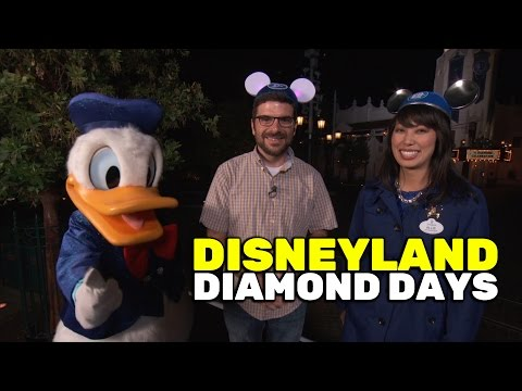 Disneyland Resort Diamond Days interview with Ambassador Allie Kawamoto and Donald Duck