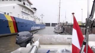 Nordostseekanal mit dem Segelboot