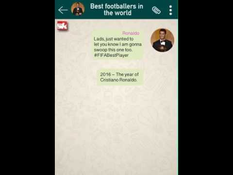 Funny Football Chat best footballers in the world