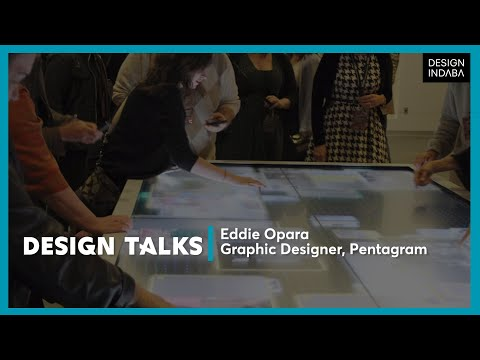 Eddie Opara on creating three-dimensional designs