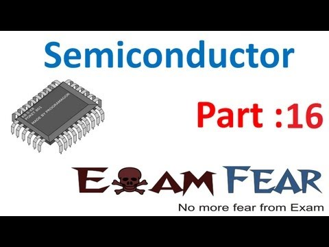 Physics Semiconductors part 16 (LED Light emitting diode) CBSE class 12 XII