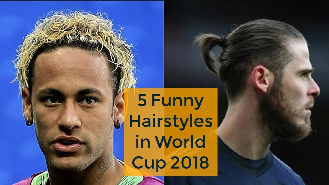 neymar's haircut isn't the only bizarre one this fifa world cup 2018