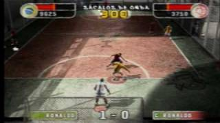 Fifa Street 2 ps2 gameplay