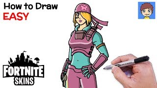 How To Draw Fortnite Skully Search On Easytubers Com Youtube Videos