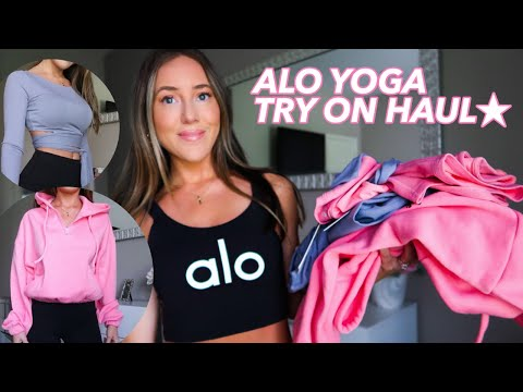 ALO YOGA *NEW COLLECTION* TRY ON HAUL | SPRING 2020 | JORDYN NICOLE
