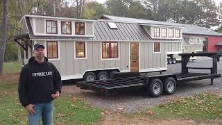 Timbercraft Tiny Homes 37 Ft. Denali Tour