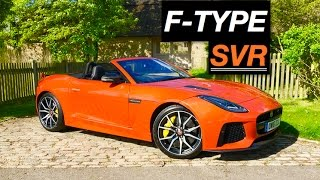 Jaguar F-TYPE SVR Convertible 2017 Videos