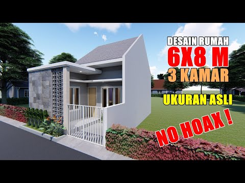 Gambar Rumah Minimalis Ukuran 6x8