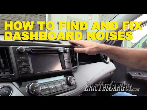 How To Find and Fix Dashboard Noises