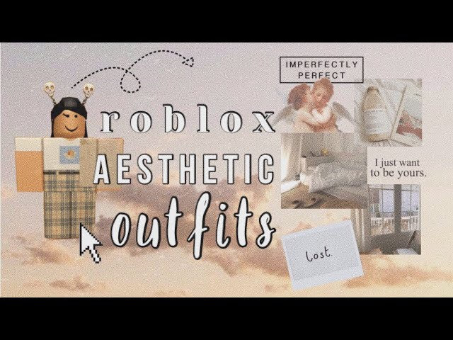 Roblox Aesthetic Outfits - Lookbook 4