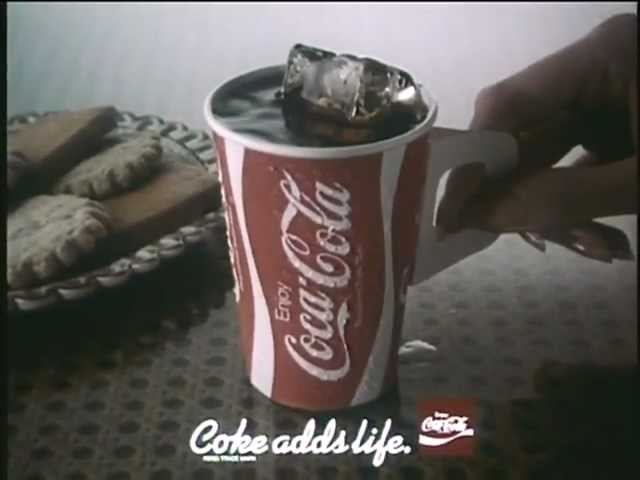 Coca‑Cola adverts from our archives