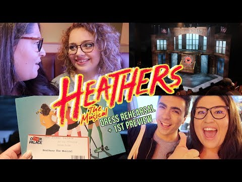 HEATHERS the Musical London - FIRST PREVIEW THOUGHTS 🖤 Rukaya Cesar