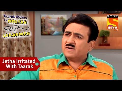 Jethalal Irritated With Taarak Mehta | Taarak Mehta Ka Ooltah Chashmah