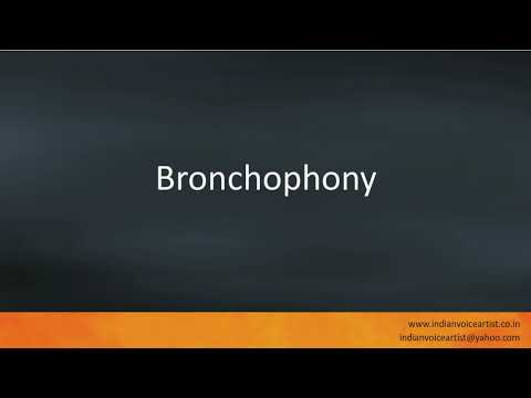 Pronunciation Of The Word S Bronchophony Youtube Definition and meaning can be found here: youtube