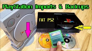 Old School Hacks, Mods & Tricks Ep: 01 How to play PlayStation Imports & Backups on PS1 & PS2