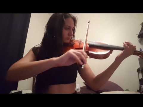 Learning the violin - 10 months - Grizzly Hills theme (World of Warcraft)