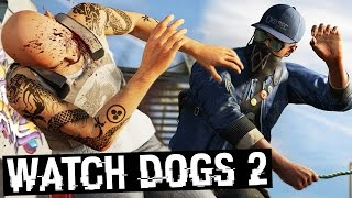 KILLING RANDOM PEOPLE ON THE STREET FOR NO REASON!!! (Watch Dogs 2)