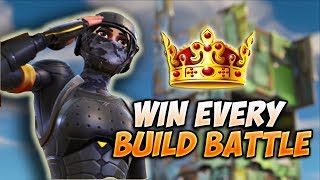 PRO TIPS to CONTROL the High Ground in BUILD FIGHTS | Fortnite Building Tips and Tricks
