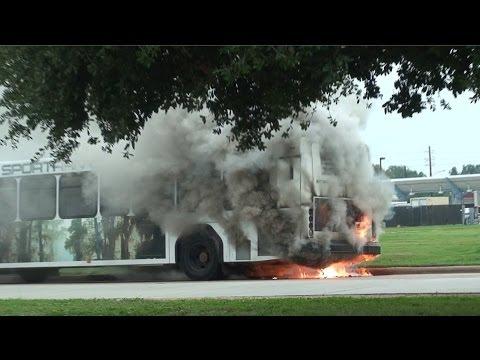 Shreveport City Electric enhanced power Bus Fire near Bossier Municipal Complex -- MMCC Forensic