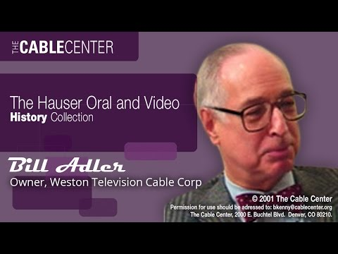 Bill Adler: Oral and Video Collection Interview