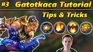 Mobile Legends Tutorial: Gatotkaca Tips and Tricks #3