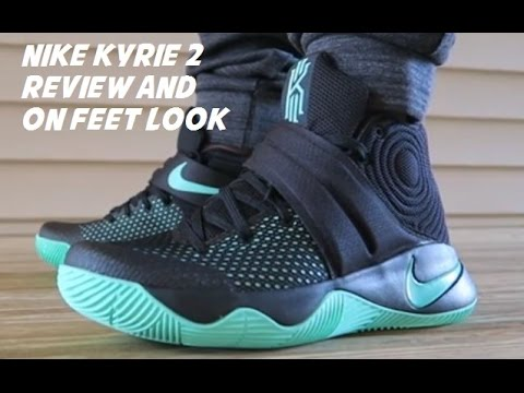 7d38a5e02bbe Nike Kyrie 2 Green Glow Black Sneaker Review + On Feet With Dj Delz ...