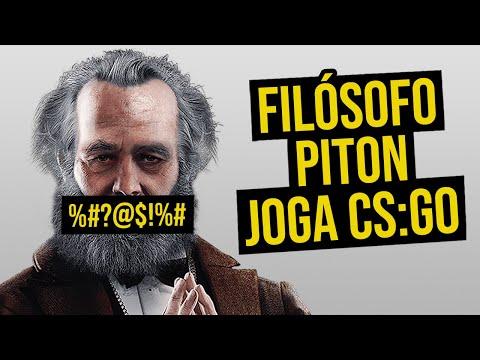 FILÓSOFO PITON JOGA CS:GO