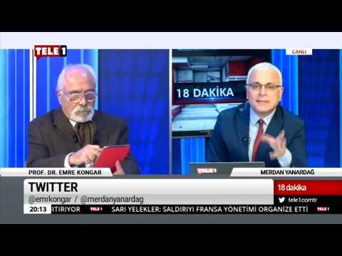 18 Dakika - (13 Aralık 2018) Merdan Yanardağ & Prof. Dr. Emre Kongar   Tele1 TV