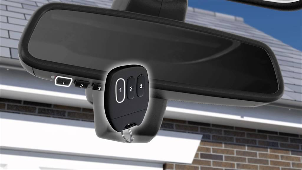 Universal garage door opener land rover usa youtube - Homelink universal garage door opener ...