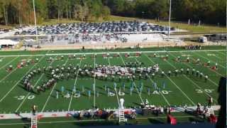 The Hinds Community College Eagle Marching Band 2011 Show - Gangsta Jazz
