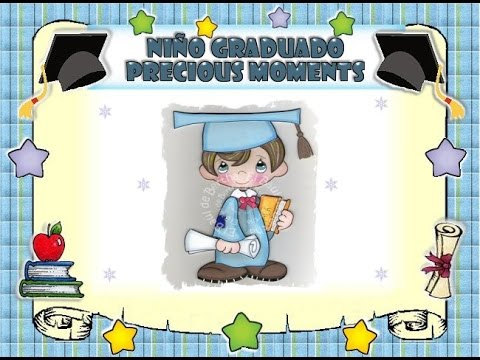 Niño Graduado Precious Moments Youtube