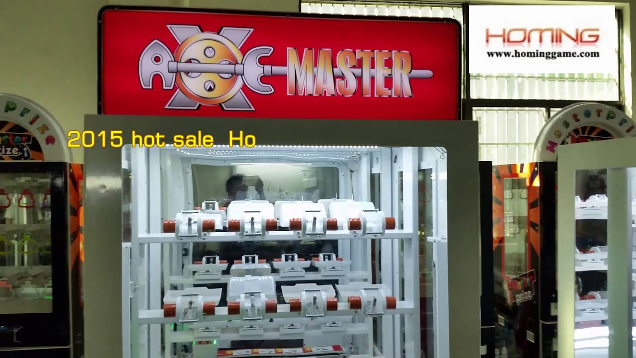 Best Game Machine In the World Axe Master Prize Game  Machine(sales@hominggame com)
