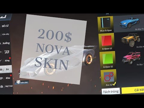 ROS Spent 200$ On New update Super Rip Off Nova sport car [ Rules of survival ]