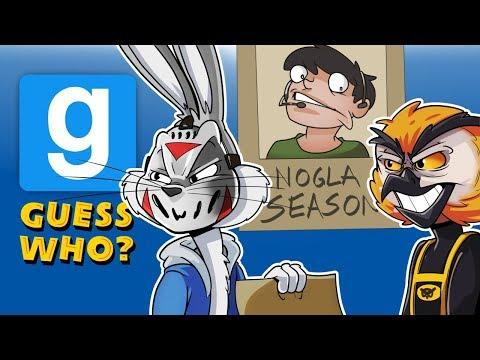 Gmod Ep. 62 GUESS WHO! - LOONEY TUNES EDITION! (Garry's Mod Funny Moments)
